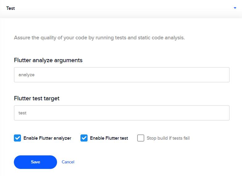 Static code analysis - Codemagic Docs