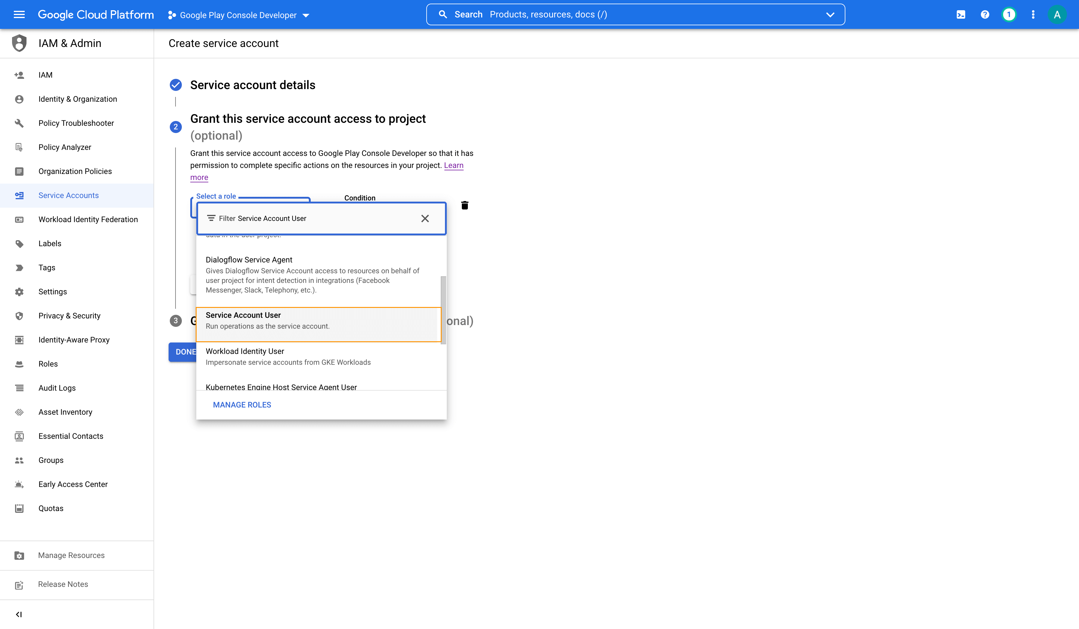 Google cloud editor